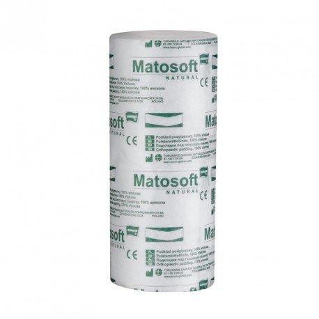 Пов'язки підгіпсові нестерильнi MATOSOFT NATURAL (15см x 3м) 12 шт.
