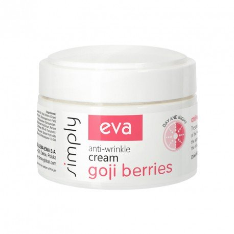 Крем від зморшок з ягодами годжи EVA SIMPLY 50 мл.