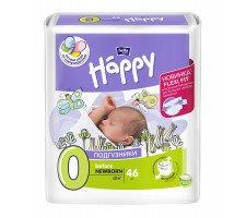 Подгузники Bella Baby HAPPY BEFORE NEWBORN (0) 46шт.