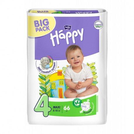 Подгузники Bella Baby HAPPY MAXI (4) 70шт.