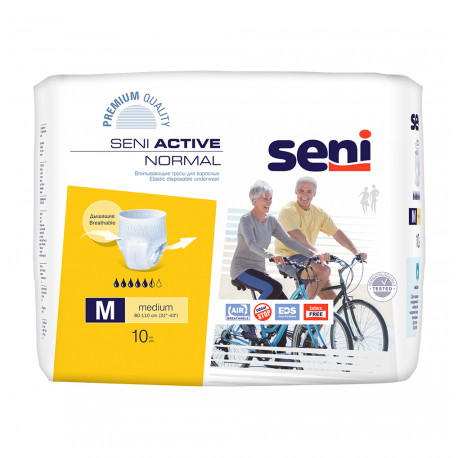 Підгузки SENI ACTIVE Normal Medium (2) 10шт.