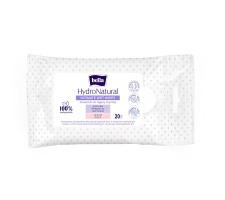 Вологі серветки для інтимної гігієни BELLA HydroNatural 20 шт.