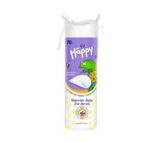 Подушечки з вати для дітей BELLA Baby Happy з екстрактом череди і Д-пантенолом 70 шт.