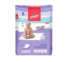 Пелёнки Bella Baby HAPPY (90х60см) 5шт.