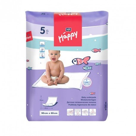 Пелюшки Bella Baby HAPPY (90х60см) 5шт.