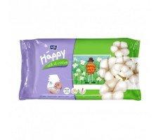 Вологі серветки HAPPY Silk&Cotton 64шт.