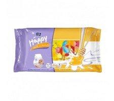 Вологі серветки HAPPY Milk&Honey 64шт.