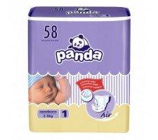 Подгузники Panda NEWBORN (1) 58шт.