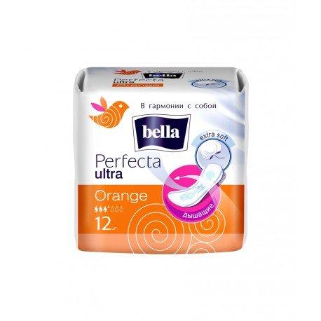 Гигиенические прокладки Bella Perfecta ultra Orange 12 шт.