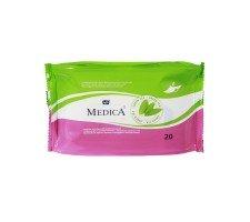 Вологі серветки для інтимної гігієни BELLA MEDICA 20 шт.