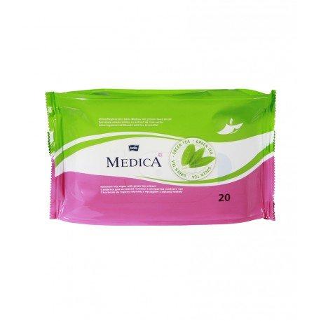 Влажные салфетки для интимной гигиены BELLA MEDICA 20 шт.