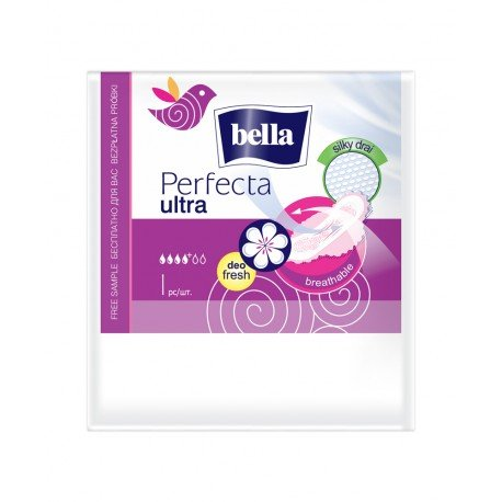 Гігієнічні прокладки Bella Perfecta ultra Violet deo fresh 1 шт.