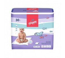 Пелёнки Bella Baby HAPPY (60х60см) 30шт.