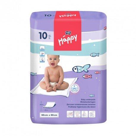Пелёнки Bella Baby HAPPY (60х60см) 10шт.