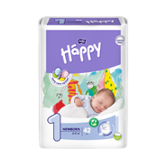 Підгузки Bella Baby HAPPY NEWBORN (1) 42шт.