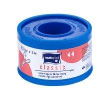 Пластирі медичні MATOPAT CLASSIC (2,5см x 5м)
