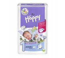 Подгузники Bella Baby HAPPY NEWBORN (1) 42шт.