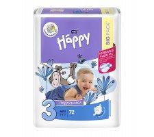 Подгузники Bella Baby HAPPY MIDI (3) 78шт.