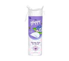 Подушечки з вати для дітей BELLA Baby Happy 70 шт.