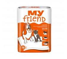Пеленки для животных My Friend (90х60 см) 10 шт.