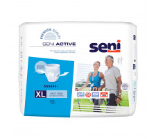 Подгузники SENI ACTIVE Extra Large (4) 10шт.