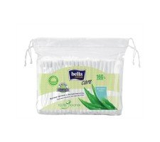 Палички гігієнічні BELLA Cotton Care з екстрактом алое 160 шт.
